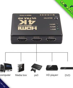 HDMI-Switcher Växlare 3x1