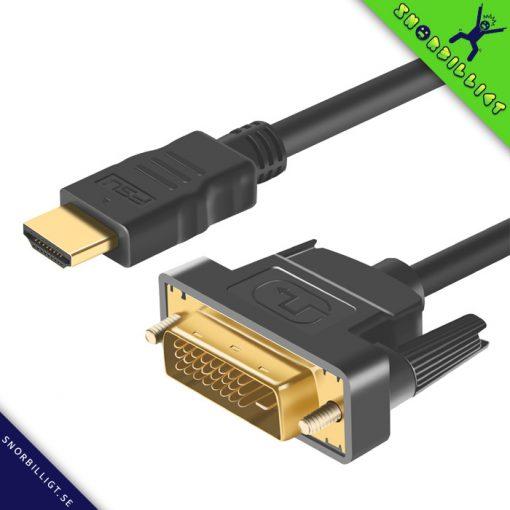 HDMI till DVI kabel