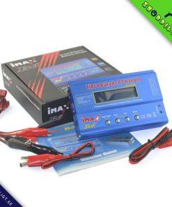 HTRC iMAX B6 80W Batteri Laddare Lipo NiMh Li-ion laddningsbara Ni-Cd Digital RC IMAX B6 Lipro Balans Laddare ansvarar för utsläppen + 15V 6A Adapter