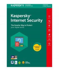 Kaspersky Internet Security med 3 användare i 1 år