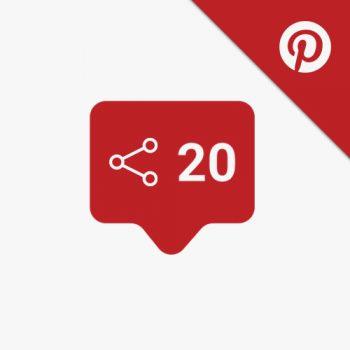 Pinterest-Shares-Delningar